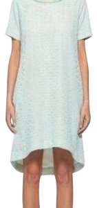 Diane von Furstenberg short dress Powder Blue on Tradesy