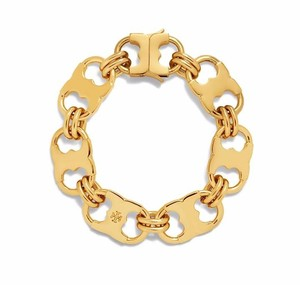 Tory Burch NEW Tory Burch Gemini Link Bracelet 16k Gold