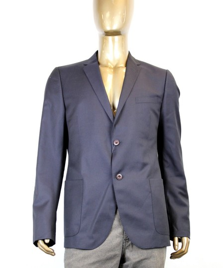 Gucci Navy New Men's Wool Jacket Chain Lining Eu 54/ Us 44 322573 4440 Groomsman Gift Image 0