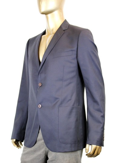 Gucci Navy New Men's Wool Jacket Chain Lining Eu 54/ Us 44 322573 4440 Groomsman Gift Image 2