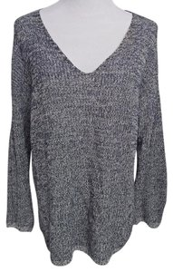 Aritzia Navy And White Sweater