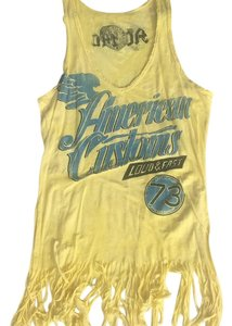 Affliction Top Yellow