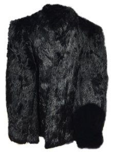 Niki Lavis Rabbit Winter Classic Fur Coat
