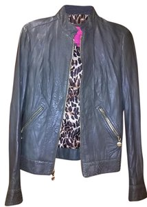 Betsey Johnson Olive Leather Jacket