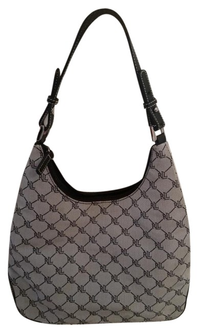 Item - Black/Grey Shoulder Bag