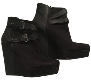 Mossimo Supply Co. Bootie Suede Black Boots