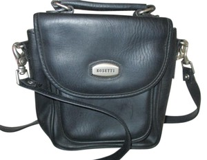Rosetti Nickel Hardware Messenger Bag