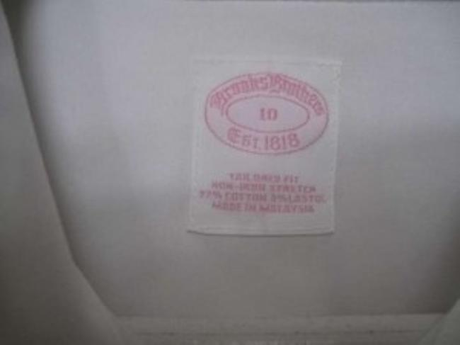 Brooks Brothers Blouse Button Down Shirt White