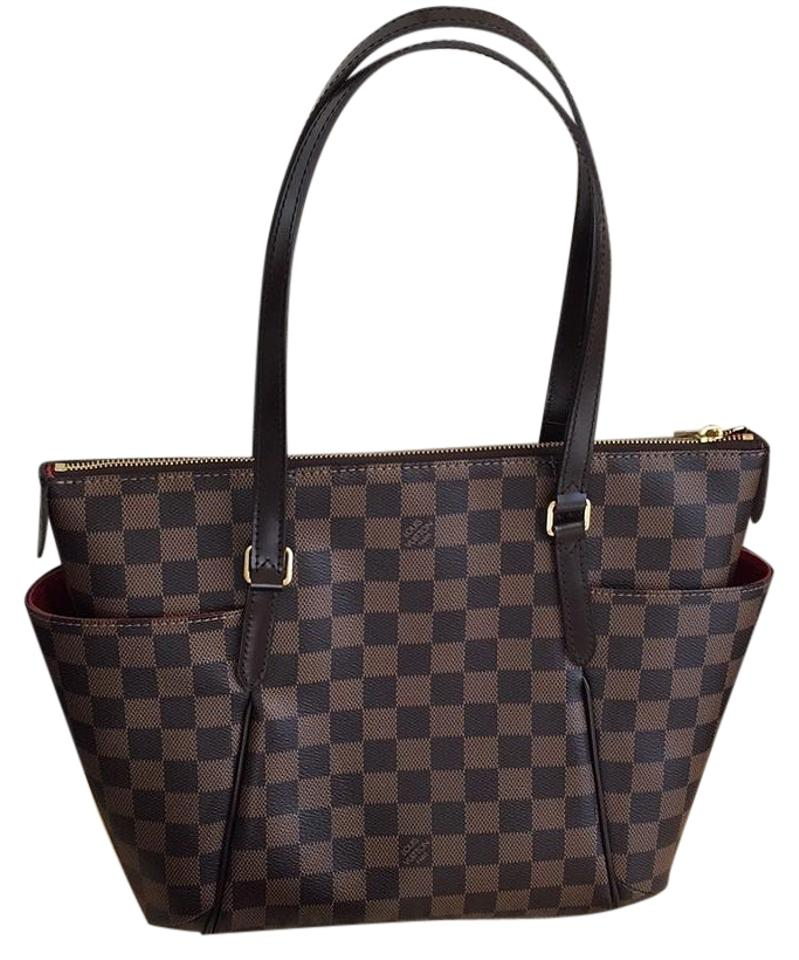 f1efe35accd3 Louis Vuitton Totally Pm Damier Ebene Tote - Tradesy