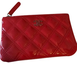Chanel Chanel Red Patent Leather Case