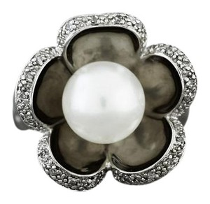Other Pearl Flower Cocktail Ring in Sterling Silver