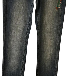 Mudd Straight Leg Jeans-Light Wash