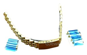Other 12-14mm Yellow Multi-End Piece Link Watch Band