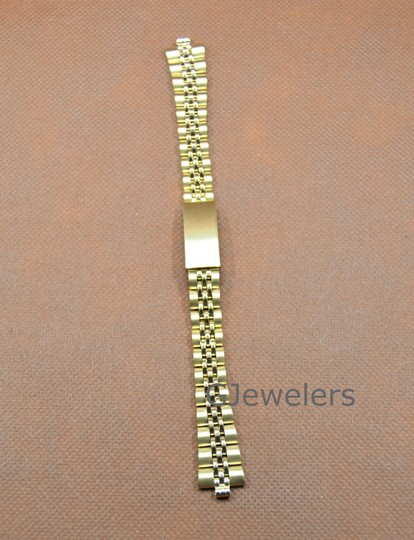 Other 12-14mm Yellow Multi-End Piece Link Watch Band Image 2