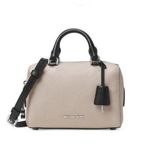 Michael Kors Satchel in Cement Black