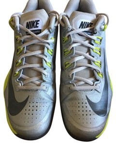 Nike Grey, lime green Athletic