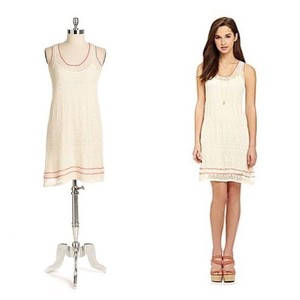 Jessica Simpson short dress Cream Knit on Tradesy