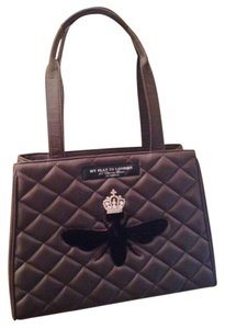 My Flat in London Quilted Tote Queen Bee Shoulder Bag