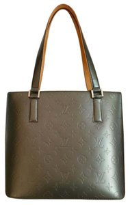 Louis Vuitton Stockton Monogram Lv Stockton Tote in Noir