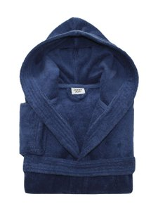 Linum Textiles Linum Textiles Hooded Bathrobe
