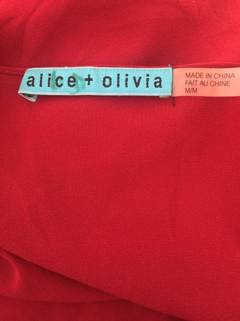 Alice + Olivia Top red Image 3