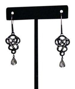 John Hardy John Hardy Classic Chain Diamond & Sapphire Dangle Earrings