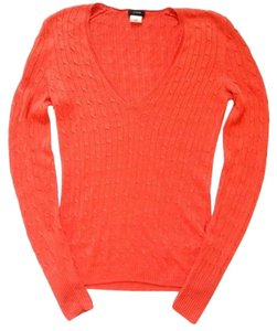 J.Crew Nwot Cable Knit V-neck Sweater