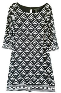 White House | Black Market Whbm Geometric Sheath Dress