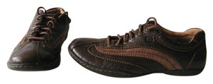 Børn Leather Lace-up Brown Athletic