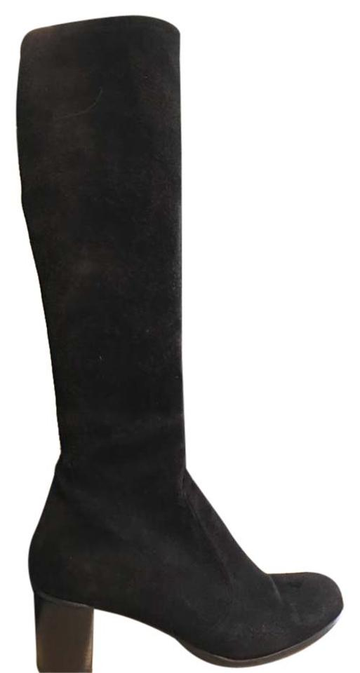2327c4ae9a9 Stuart Weitzman Black Stretch Boots Booties. Size  US 8.5 Regular (M ...
