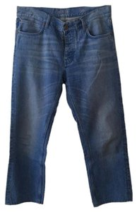 MiH Jeans Relaxed Fit Jeans-Medium Wash