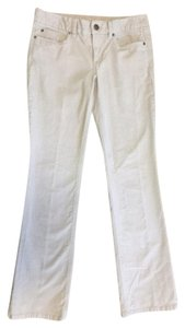 J.Crew Cords Corduroy Favorite Fit Straight Pants Cream