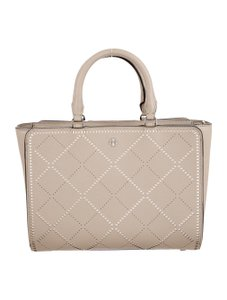 Tory Burch Handbag Satchel in taupe