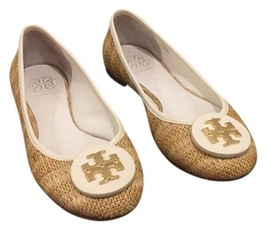 Tory Burch White/tan Flats
