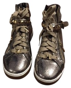 Michael Kors Sneakers Studded Gold/Champagne Athletic