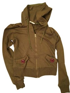 Mike & Chris Zip Up Cargo Sweatshirt