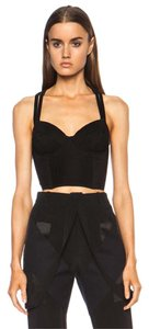 Fleur du Mal Zimmermann Isabel Marant Tibi Elizabeth And James Alice + Olivia Top Black