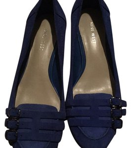 Nine West Blue Flats