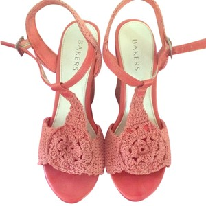 Bakers Pink Wedges