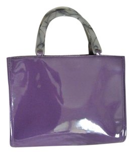 Neiman Marcus Tote in Deep Purple