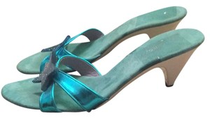 Marc Jacobs Turquoise Sandals