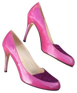 Butter Fuschia Pumps