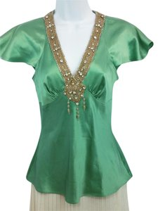Tracy Reese Jade Silk Top