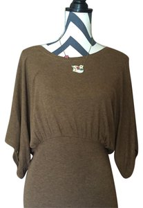 Anthropologie Top Bronze
