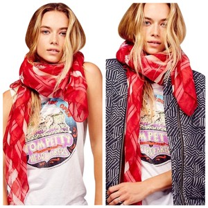 Free People Land of the Free Oversized Star Scarf