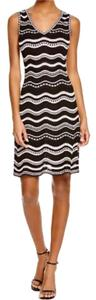 M Missoni short dress Black And White Stars Stretchy Knit on Tradesy