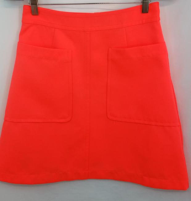 Marc by Marc Jacobs Orange Skirt Image 1