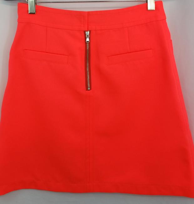 Marc by Marc Jacobs Orange Skirt Image 4