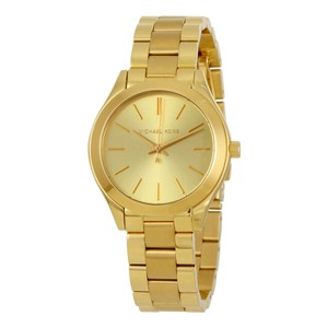 Michael Kors Gold tone Stailess Steel Designer Casual watch