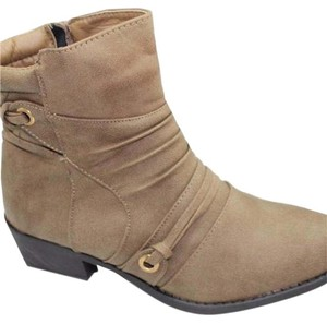New sizes 5-10 taupe Ankle Boots/booties Boots